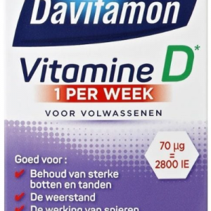 Davitamon Vitamine D 1 Per Week Tabletten