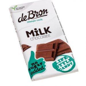 De Bron Suikervrije Tablet Milk Chocolate