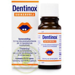 Dentinox Druppels 4mg/ml Suikervrij