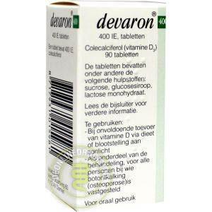 Devaron Vitamine D Tabletten 90st