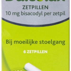Dulcolax Bisacodyl 10mg Zetpillen 6st