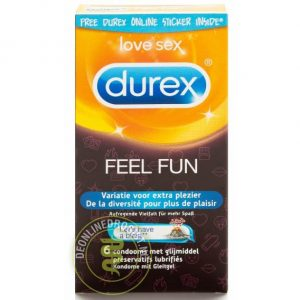 Durex Condooms Feel Fun