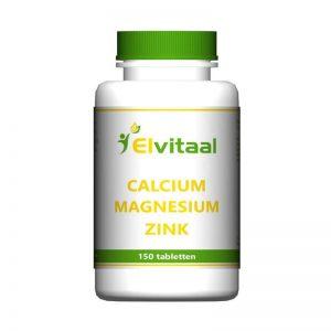 Elvitaal Calcium Magnesium Zink Tabletten 150st