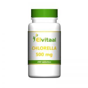 Elvitaal Chlorella 500mg Tabletten 200st
