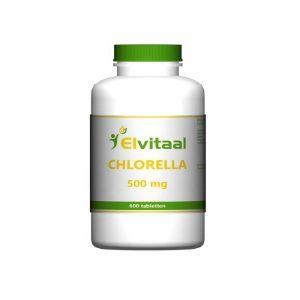 Elvitaal Chlorella 500mg Tabletten 600st