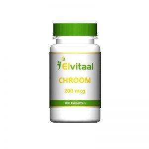 Elvitaal Chroom Tabletten 100st