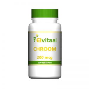 Elvitaal Chroom Tabletten 250st