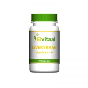 Elvitaal Levertraan Capsules 100st