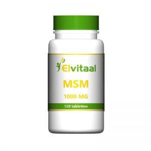 Elvitaal MSM 1000mg Tabletten 120st