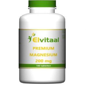 Elvitaal Premium Magnesium 200mg Tabletten 180st
