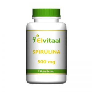 Elvitaal Spirulina 500mg Tabletten 250st