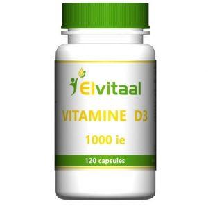 Elvitaal Vitamine D3 1000 IE Capsules