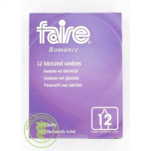 Faire Romance Condoom + Glijmiddel