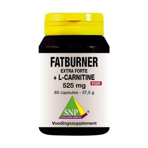 Fatburner extra forte&L-carnitine 525 mg puur