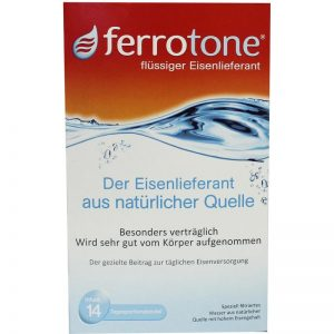 Ferrotone Bronwater Ijzersupplement 14x20ml