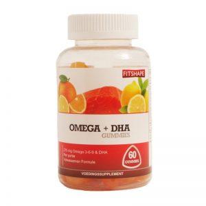 Fitshape Omega + DHA Gummies