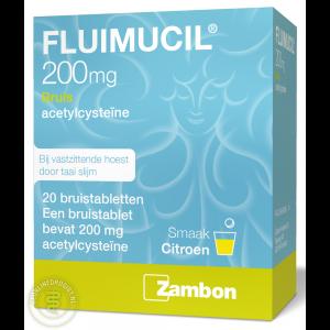 Fluimucil 200mg Bruistabletten 20st