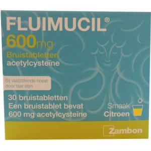 Fluimucil 600mg Bruistablet 30st