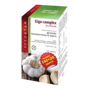 Fytostar Giga Complex Knoflook Capsules 160st