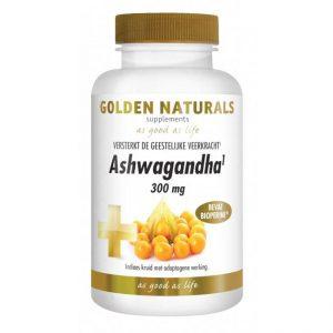 Golden Naturals Ashwagandha 300mg Capsules 60st