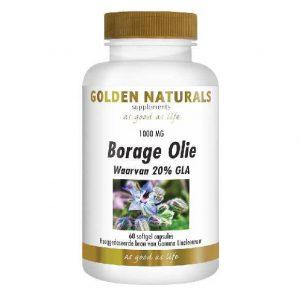 Golden Naturals Borage Olie Softgels 60st