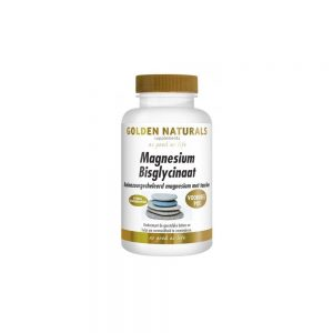 Golden Naturals Magnesium Bisglycinaat Tabletten