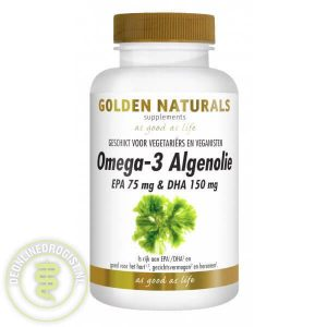 Golden Naturals Omega 3 Algenolie Capsules 60st
