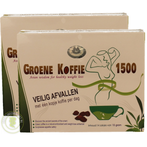 Groene Koffie 1500 Duo