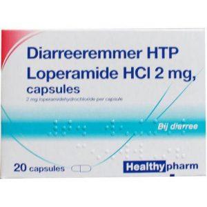 Healthypharm Diarreeremmer 2mg Capsules 20st