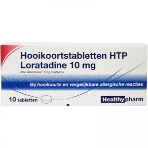 Healthypharm Hooikoorts Loratadine Tabletten 10st