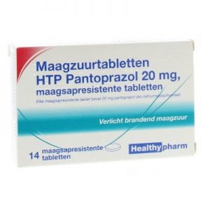 Healthypharm Maagzuurremmer Pantoprazol 20mg Tabletten 14st