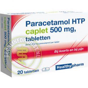 Healthypharm Paracetamol 500mg Caplet 20st
