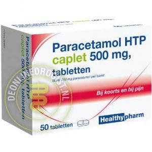 Healthypharm Paracetamol 500mg Caplet 50st