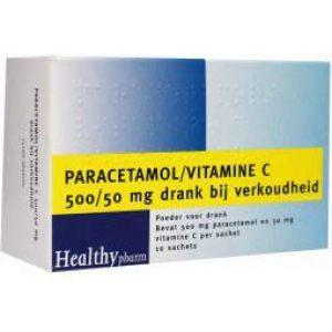 Healthypharm Paracetamol Vitamine C Sachet 10st