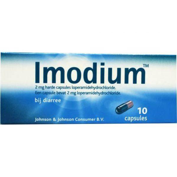 Imodium 2mg Capsules 10st