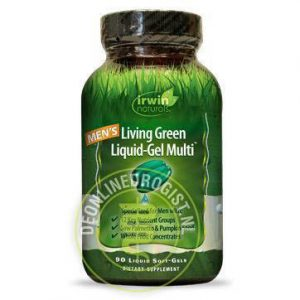 Irwin Naturals Mens Multi Liquid Soft Gel Capsules