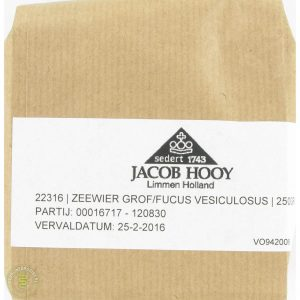 Jacob Hooy Zeewier 250gr