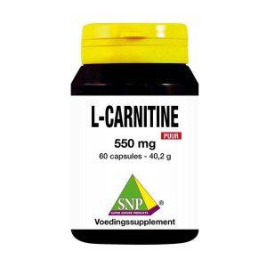 L Carnitine 550 mg puur