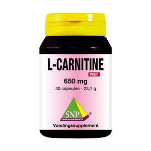 L-Carnitine 650 mg puur