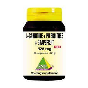 L Carnitine pu erh grapefruit