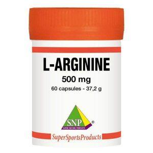 L-arginine 500 mg puur