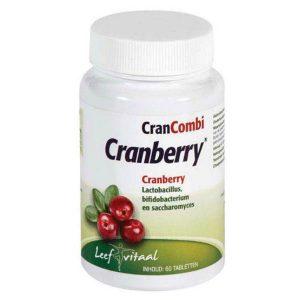 Leef Vitaal CranCombi Cranberry Tabletten
