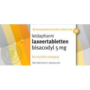 Leidapharm Bisacodyl Laxeer 5mg