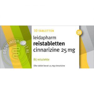 Leidapharm Cinnarizine Reistabletten