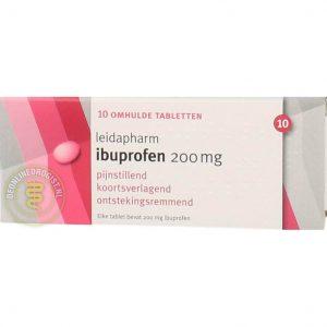 Leidapharm Ibuprofen 200mg Tabletten 10st