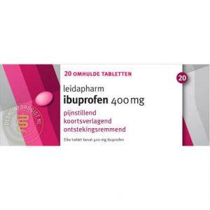 Leidapharm Ibuprofen 400mg Tabletten 20st