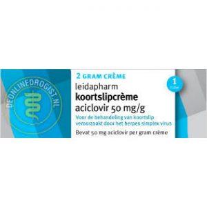Leidapharm Koortslipcreme Aciclovir