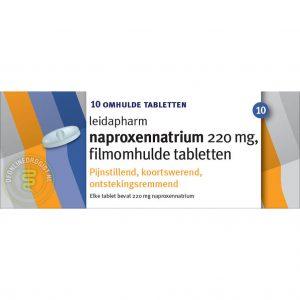 Leidapharm Naproxennatrium 220mg Tabletten 10st