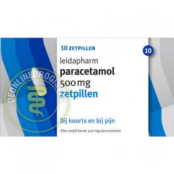 Leidapharm Paracetamol Zetpil 500mg