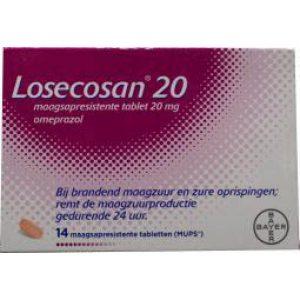 Losecosan Omeprazol 20mg 14st